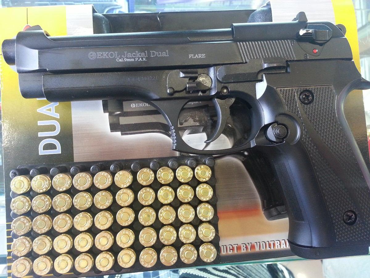 Ekol Jackal Dual пистолет сигнальный стартовый шумовой копия боевого