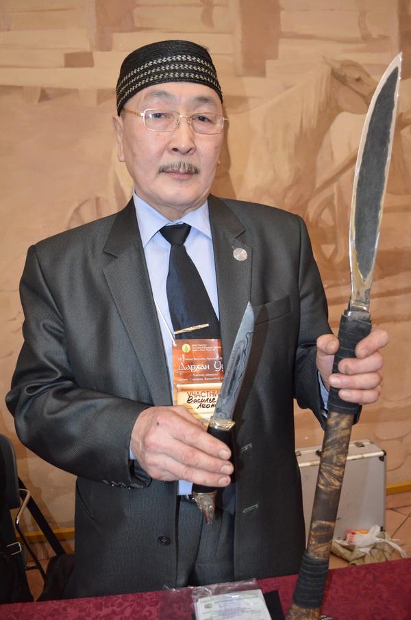 Выставка ножей в Якутске Дархан Уус 2016