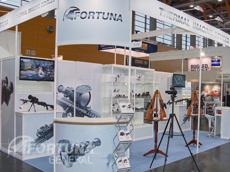 Fortuna, FORTUNA GENERAL, тепловизионные прицелы FORTUNA GENERAL ONE, IWA Outdoor Classics 2018