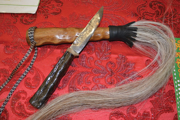 Как сделан нож якута 87