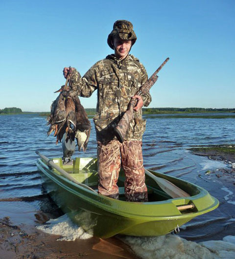 Охота на утку с манком - как
