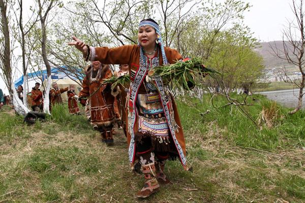Камчатка встретила День первой рыбы обрядами и танцами