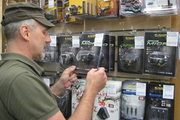 Охотничьи наконечники NAP, полочки NAP, стабилизаторы NAP в ИНТЕРЛОПЕР - официальном поставщике New Archery Products в России