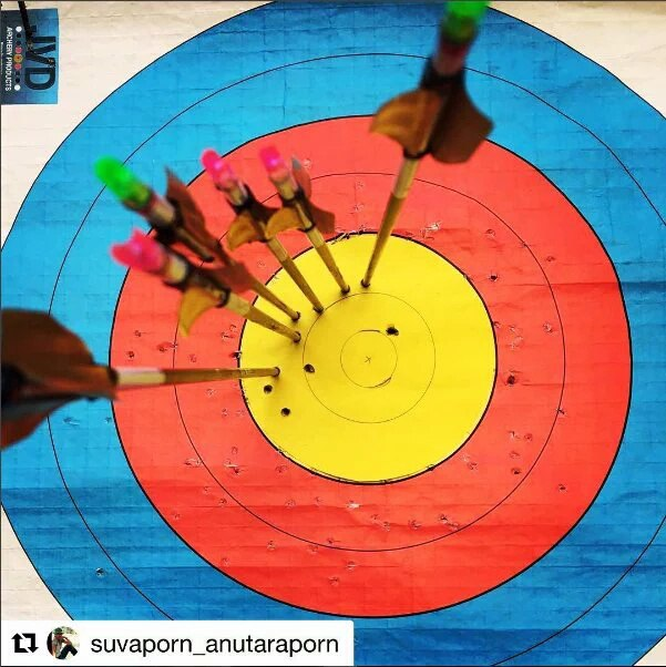 Archery-волан при нестандартилированном усилии выпуска стрел