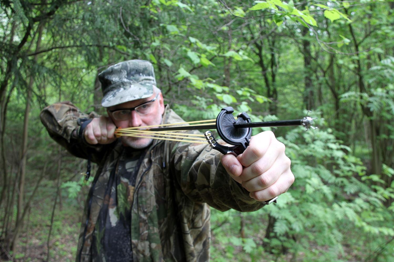 Комплексы Экстремального Выживания на основе охотничьих рогаток - Archery Slingshots NECNational Explorer Complex CES