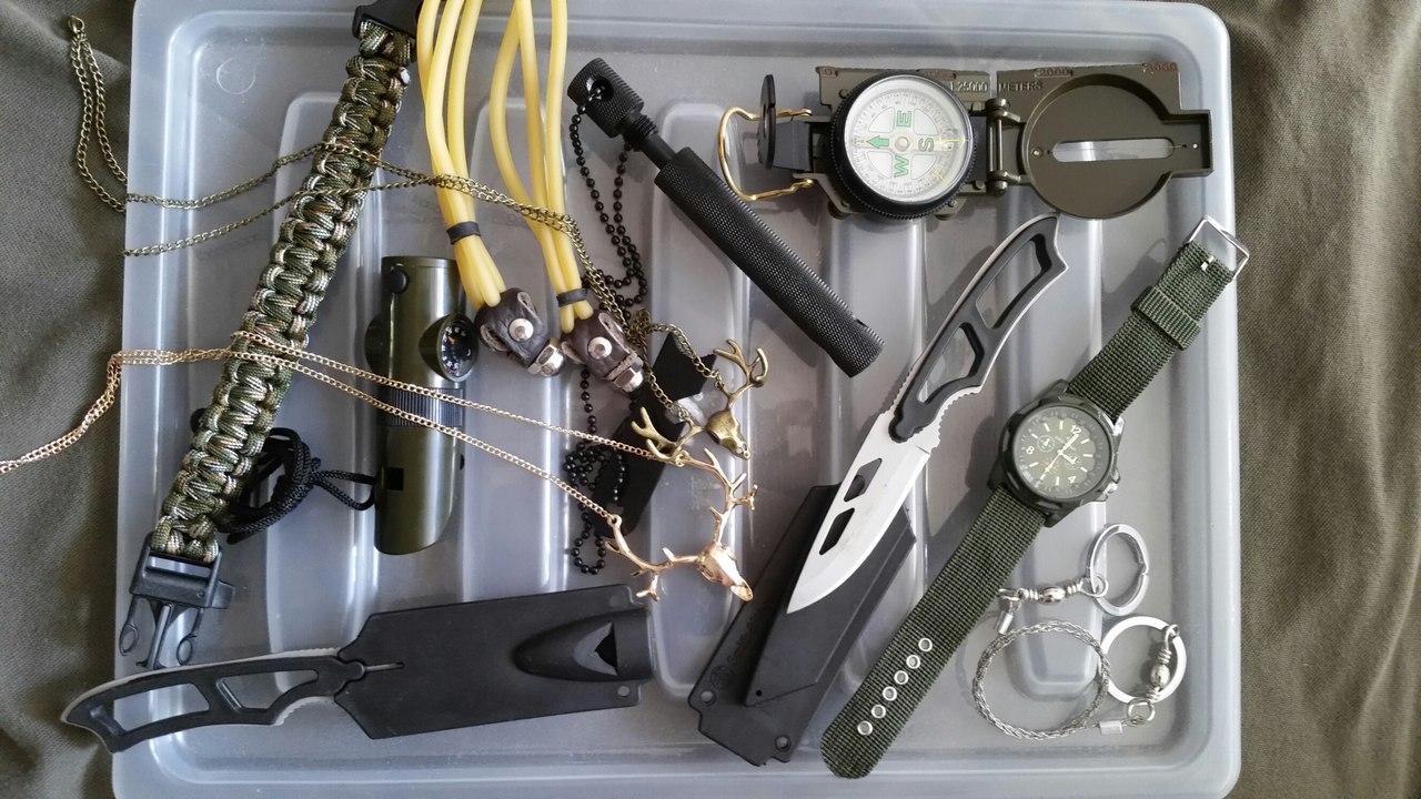 Комплекты для Выживания, арчери-рогатки, охотничьи рогатки