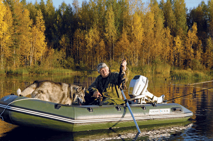 лодка резиновая для охоты