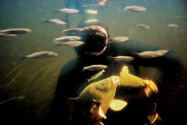 Волгоград подводная охота на варваровском водохранилище - Про рыбалку