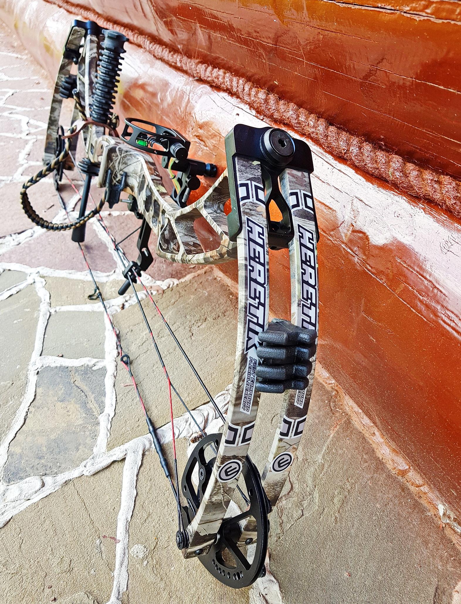Лучший охотничий блочный лук 2018 на российском рынке - Velocity Archery Retribution, или Kinetic Heretik (Sanlida)