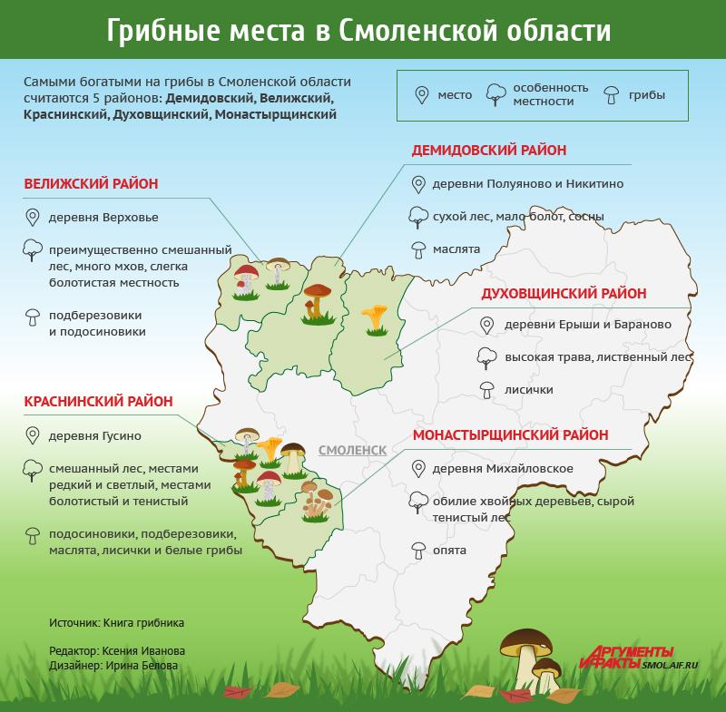 Грибы в Смоленской области, карта грибных мест Смоленской области, где собирать грибы в Смоленской области, грибные места Смоленской области, где собирать грибы Смоленская область, грибы в Смоленской области карта, какие грибы собирать в Смоленской области