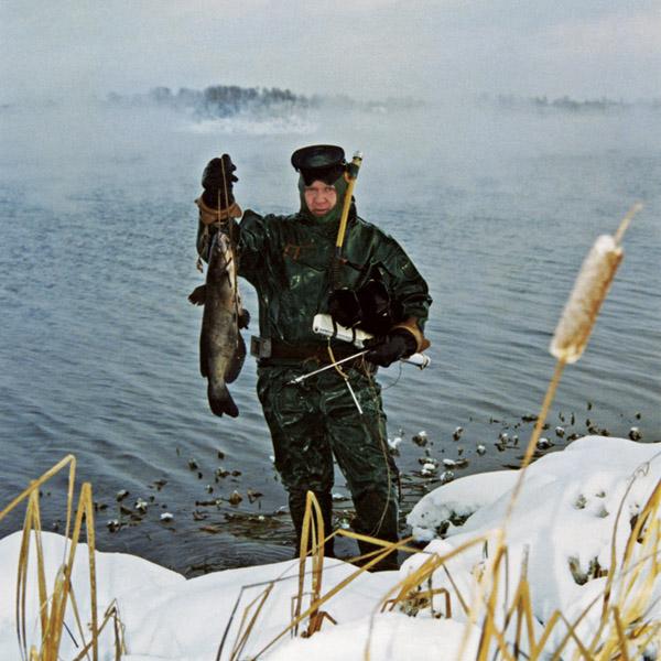 Подводная охота, подводный охотник, подводная охота зимой, зимняя подводная охота, подводная охота подо льдом