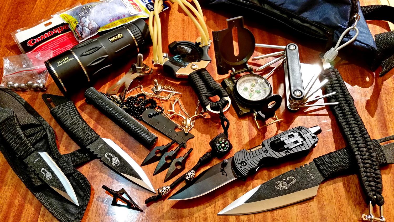 Охотничьи рогатки, комплексы экстремального выживания