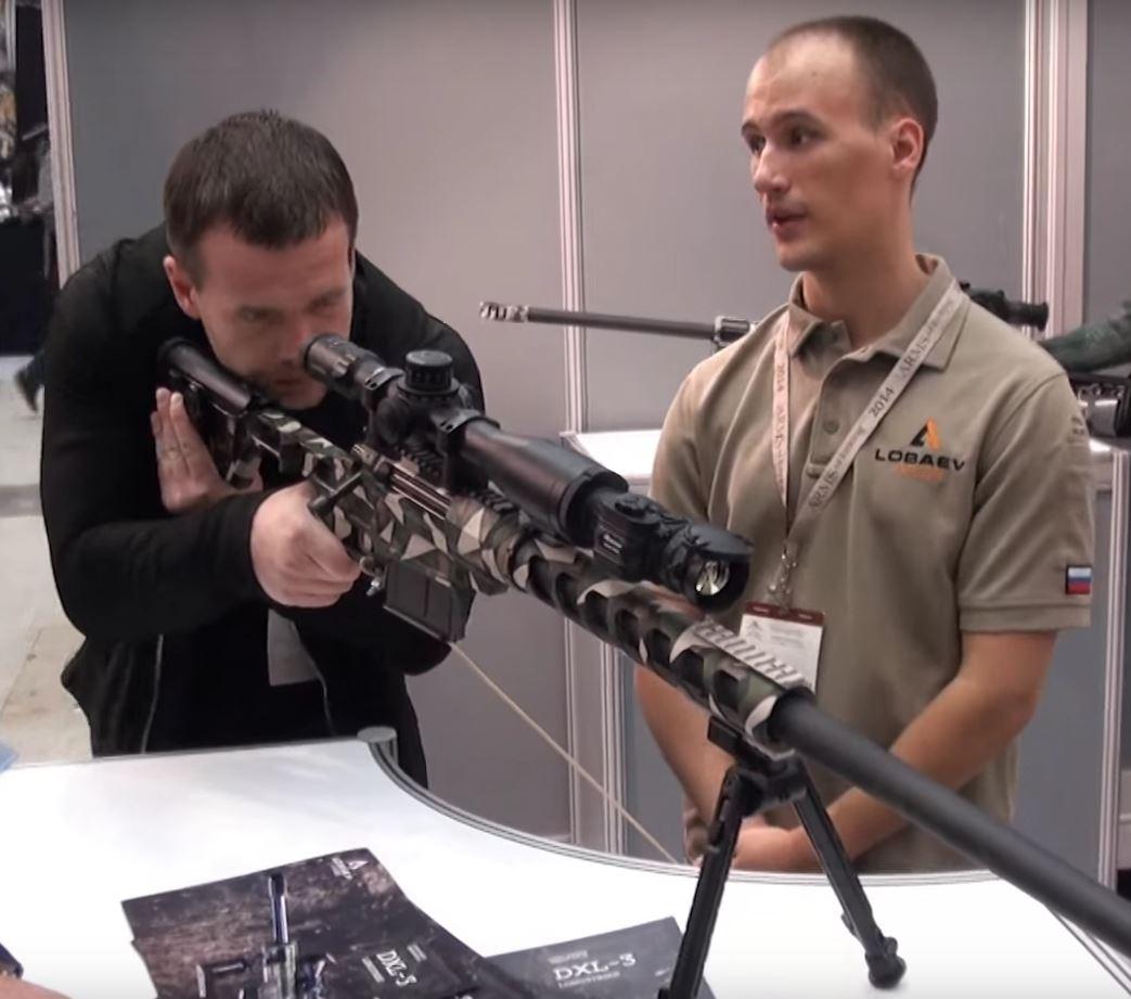 Винтовки Lobaev Arms и тепловизоры FORTUNA на «Оружие и Охота 2017», FORTUNA GENERAL, Аrms & Hunting 2017, снайперские винтовки LOBAEV ARMS