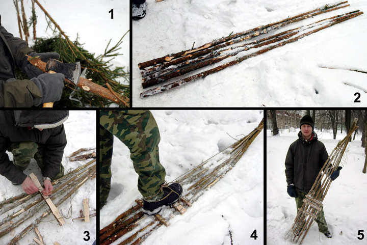 Крепление на охотничьи лыжи своими руками фото