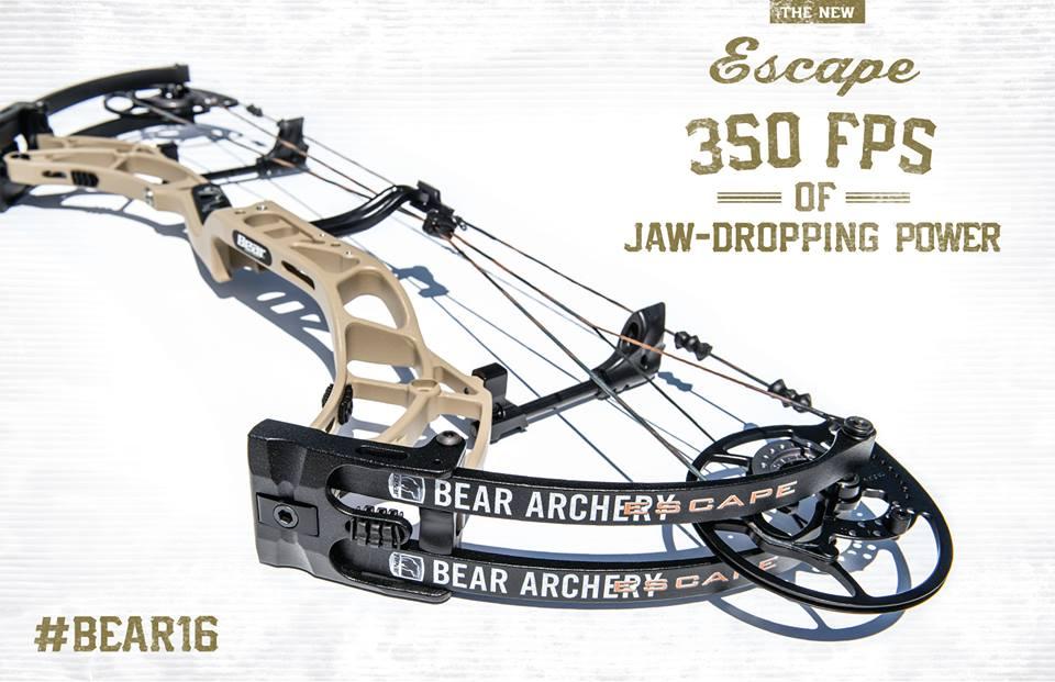 350 fps, виброгасители карманов Bear Escape