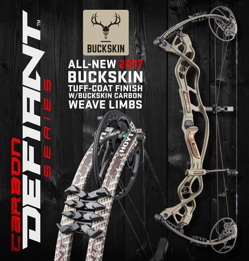 Buck Skin - новый вариант окраски охотничьих луков Хойт