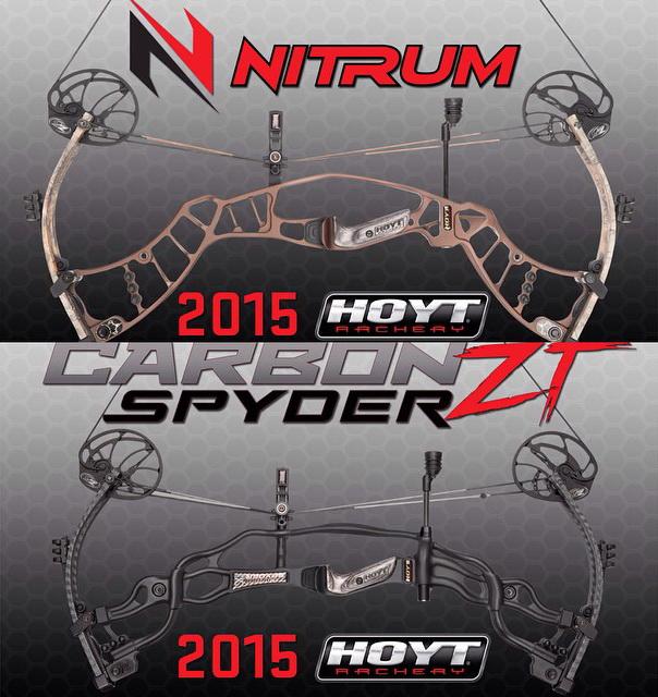 Хойт HOYT блочные луки Хойт 2015, Новые охотничьи луки HOYT Archery 2015, HOYT Nitrum, HOYT Carbone Spyder 2015