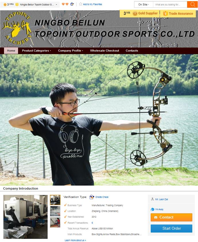 ToPoint Archery блочные луки Боумастер BowMaster Ningbo Beilun Topoint Outdoor Sports Co