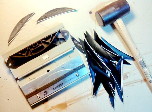 Про изготовление древка стрелы лучше вообще ничего лишнего не измышлять, так как ничего приличного кроме фабричного...