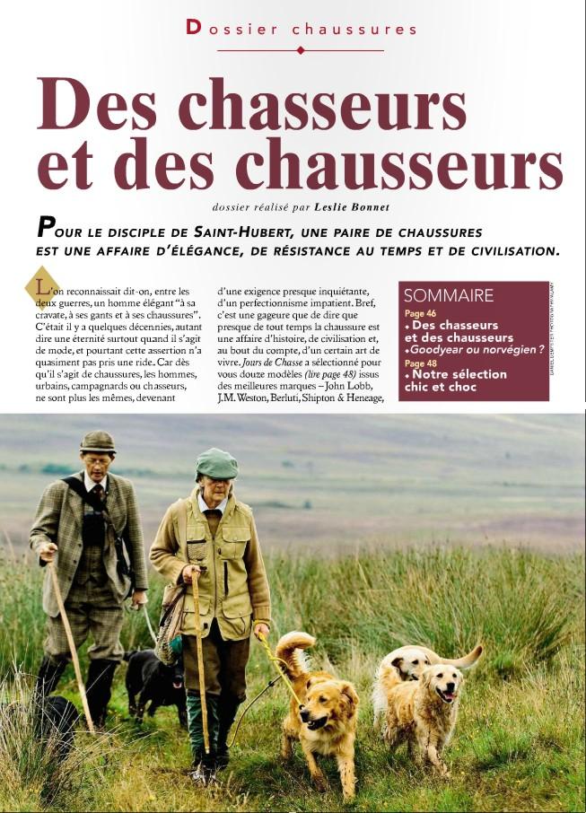 Jours de Chasse - один из лучших в мире охотничьих журналов - Декабрь 2011
