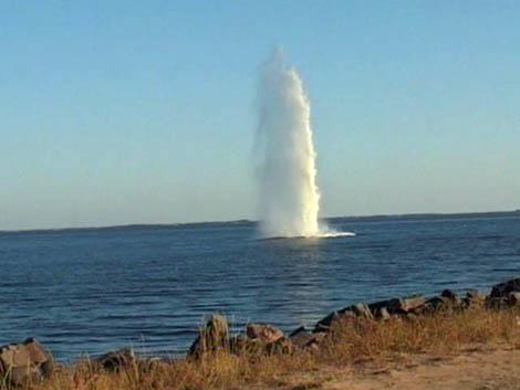 Подводный улов прапорщика Воронова - более 1000 взрывоопасных находок