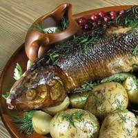 рецепты запеченной рыбы семги в духовке