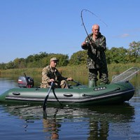 рыбалка якоря на надувные лодки