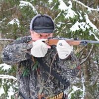 Подготовка лайки к охоте на птицу