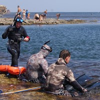 Сайт севастопольских подводных охотников создание веб сайтов в спб