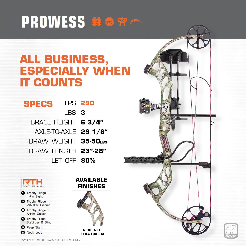 Bear Archery Prowess bow 2017